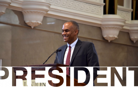 Dr. David Harris announced as new Union president