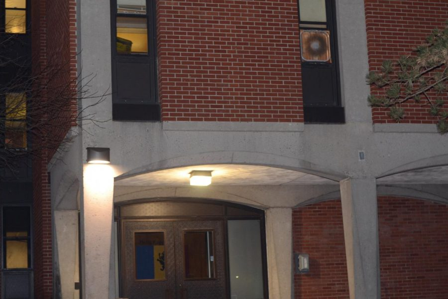 Fox+North%2C+the+former+on-campus+residence+of+the+Delta+Kappa+Epsilon+fraternity%2C+with+the+DKE+letters+removed.+Photo+by+Joe+Maher.