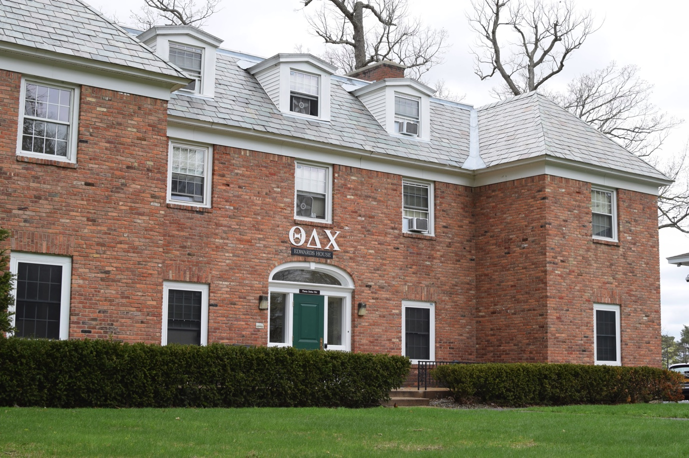 The Theta Delta Chi (TD Chi) house on Union's campus. Photo by Alex Appel.
