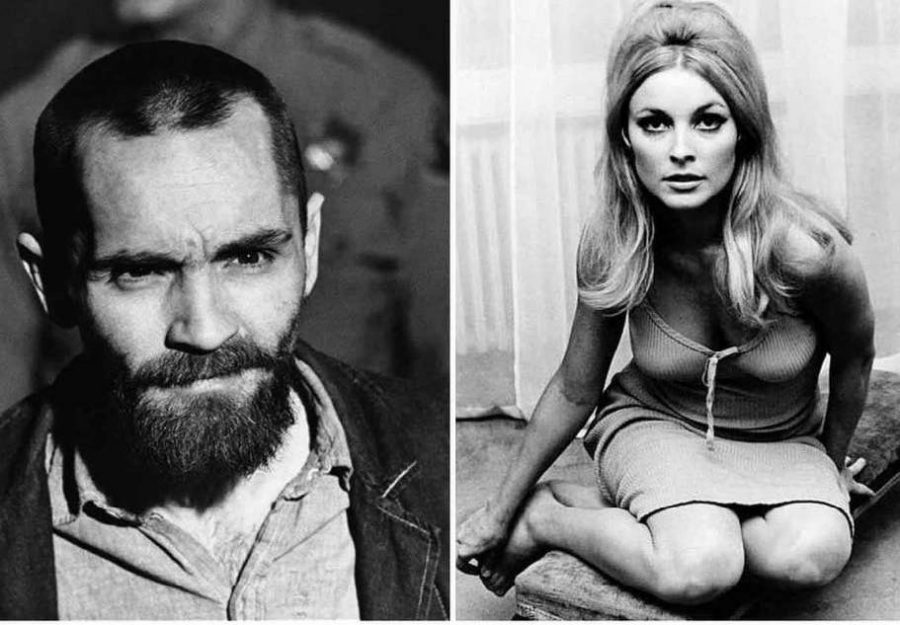 Charles+Manson+and+Sharon+Tate%2C+played+in+the+film+by+Damon+Herriman+and+Margot+Robbie+respectively.+Courtesy+of+the+New+Haven+Register.
