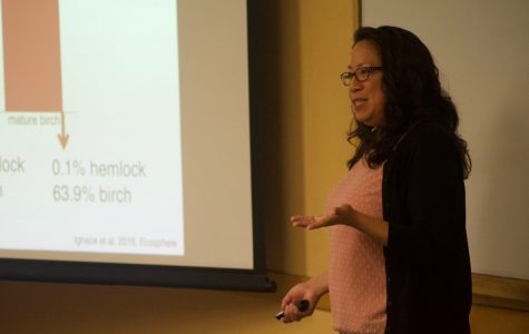 Biology seminar focuses on trees and climate change