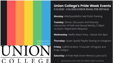 Virtual Union Pride Week