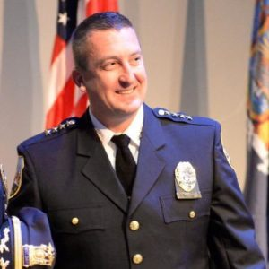 Schenectady Police Chief Eric Clifford'94