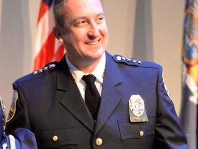 Schenectady Police Chief Eric Clifford'94