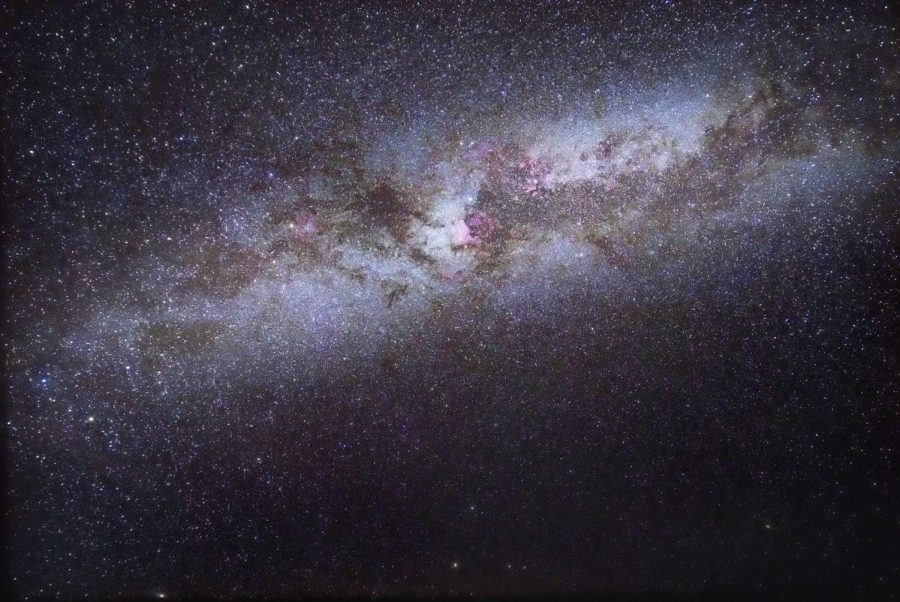 The Milky Way Galaxy, in which the Earth and Jupiter are found