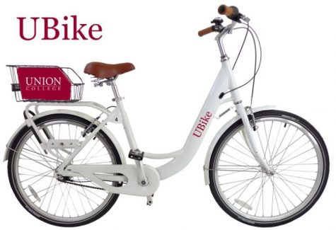 One of the UBikes you can find around campus. Image taken from UBike website.