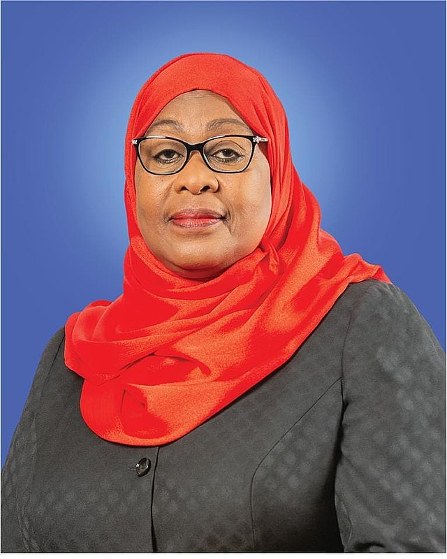 President Samia Suluhu Hasssan of Tanzania